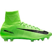 Neon Soccer Cleats