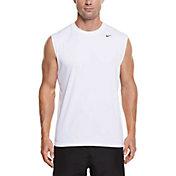 Nike Men's Solid Hydro Sleeveless Shirt