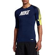 Nike Men's Half Sleeve Compression Shirt