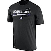Nike Men's TCU Horned Frogs Football Staff Legend Black T-Shirt