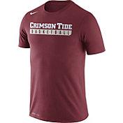 Nike Men's Alabama Crimson Tide Crimson Basketball Practice Legend T-Shirt