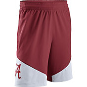Nike Men's Alabama Crimson Tide Crimson/White New Classics Basketball Shorts