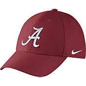Nike Men's Alabama Crimson Tide Crimson Dri-FIT Wool Swoosh Flex Hat