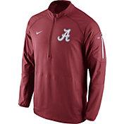 Nike Men's Alabama Crimson Tide Crimson Championship Drive Hybrid Football Performance Jacket