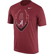 Nike Men's Alabama Crimson Tide Crimson Football Icon Legend T-Shirt