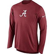 Nike Men's Alabama Crimson Tide Crimson ELITE Shooter Long Sleeve Shirt
