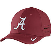 Nike Men's Alabama Crimson Tide Crimson Vapor Sideline Coaches Hat