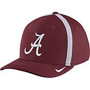 Nike Men's Alabama Crimson Tide Crimson Aerobill Swoosh Flex Classic99 Football Sideline Hat