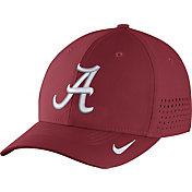 Nike Men's Alabama Crimson Tide Crimson Vapor Sideline Swoosh Flex Hat