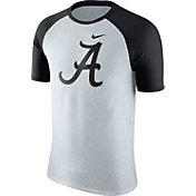 Nike Men's Alabama Crimson Tide Oatmeal/Black Gridiron Grey Jersey Hook T-Shirt