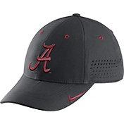 Nike Men's Alabama Crimson Tide Anthracite Sideline Swoosh Football Hat