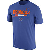 Nike Men's Boise State Broncos Blue Football Staff Legend T-Shirt