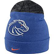 Nike Men's Boise State Broncos Blue/Grey Sideline Beanie