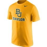 Nike Men's Baylor Bears Gold Logo T-Shirt