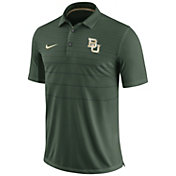 Nike Men's Baylor Bears Green Early Season Football Polo