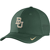 Nike Men's Baylor Bears Green Vapor Sideline Coaches Hat