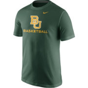 Nike Men's Baylor Bears Green University Basketball T-Shirt