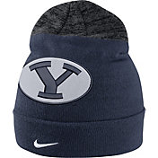 Nike Men's BYU Cougars Blue/Grey Sideline Beanie