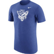 Nike Men's BYU Cougars Heathered Blue Vault Tri-Blend T-Shirt