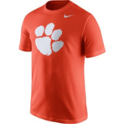 Nike Men's Clemson Tigers Orange Logo T-Shirt