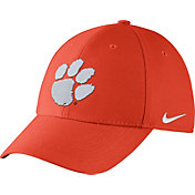 Nike Men's Clemson Tigers Orange Dri-FIT Wool Swoosh Flex Hat