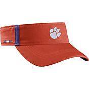 Nike Men's Clemson Tigers Orange Aerobill Football Sideline Visor