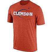 Nike Men's Clemson Tigers Orange Football Icon Legend T-Shirt