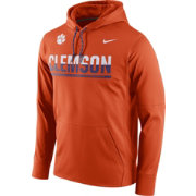 Nike Men's Clemson Tigers Orange Circuit PO Hoodie