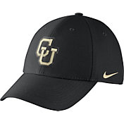 Nike Men's Colorado Buffaloes Black Vault Dri-FIT Swoosh Flex Hat