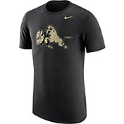 Nike Men's Colorado Buffaloes Heathered Black Vault Tri-Blend T-Shirt
