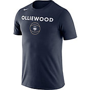 Nike Men's UConn Huskies Blue Basketball T-Shirt