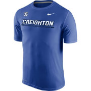 Nike Men's Creighton Bluejays Blue Legend Staff Sideline T-Shirt