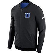 Nike Men's Duke Blue Devils Showtime Dry Basketball Black Jacket