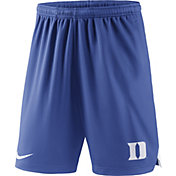 Nike Men's Duke Blue Devils Duke Blue Knit Football Sideline Performance Shorts