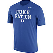 Nike Men's Duke Blue Devils Duke Blue 'Duke Nation' Authentic Local Legend T-Shirt