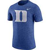 Nike Men's Duke Blue Devils Duke Blue Marled Logo T-Shirt