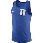 Nike Men's Duke Blue Devils Duke Blue Marled Tank Top
