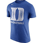 Nike Men's Duke Blue Devils Duke Blue Basketball Tri-Blend T-Shirt