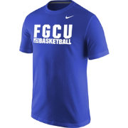 Nike Men's Florida Gulf Coast Eagles Cobalt Blue Basketball Practice T-Shirt