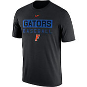 Nike Men's Florida Gators Team Issue Legend Baseball Black T-Shirt