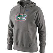 Nike Men's Florida Gators Grey Classic Logo Hoodie