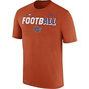 Nike Men's Florida Gators Orange FootbALL Sideline Legend T-Shirt