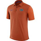 Nike Men's Florida Gators Orange Team Issue Football Sideline Performance Polo