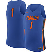 Nike Men's Florida Gators #1 Blue Replica ELITE Basketball Jersey