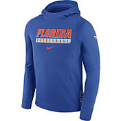 Nike Men's Florida Gators Blue ELITE Basketball Performance Hoodie