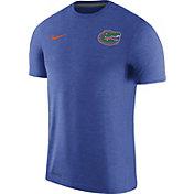 Nike Men's Florida Gators Blue Coach Football T-Shirt