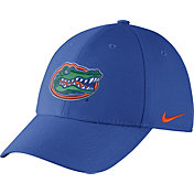 Nike Men's Florida Gators Blue Dri-FIT Wool Swoosh Flex Hat