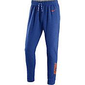 Nike Men's Florida Gators Blue Elite Players Dri-FIT Touch Pants