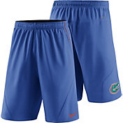 Nike Men's Florida Gators Blue Fly XL 5.0 Football Sideline Shorts
