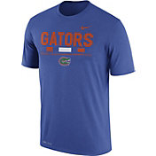 Nike Men's Florida Gators Blue Football Staff Legend T-Shirt